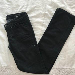 William Rast Black Jeans - size 25 - straight leg